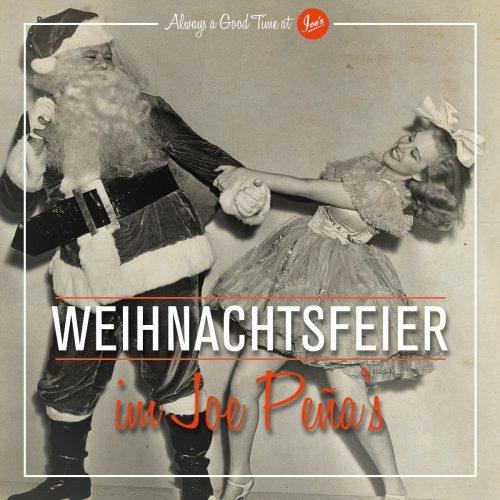 WeihnachtsfeiernImJoes